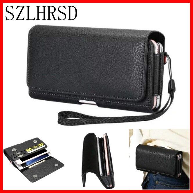 imágenes para Doble del teléfono celular Paquete de La Cintura, para Nomu S20 S30 mini bolso de La Bolsa con Clip de Cinturón Funda para OnePlus Gretel A7 iMAN Victor S 5