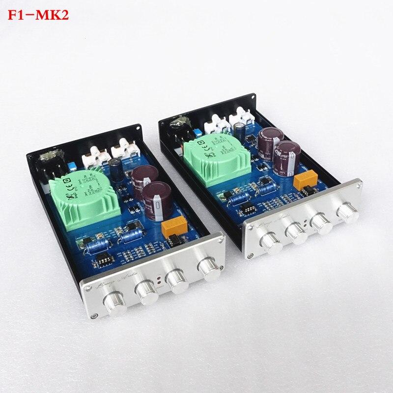 Brise AudioF1-MK2 version améliorée NE5532 * 2/OPA2604 LME49720 Tone préamplificateur Avec treble alto réglage des basses
