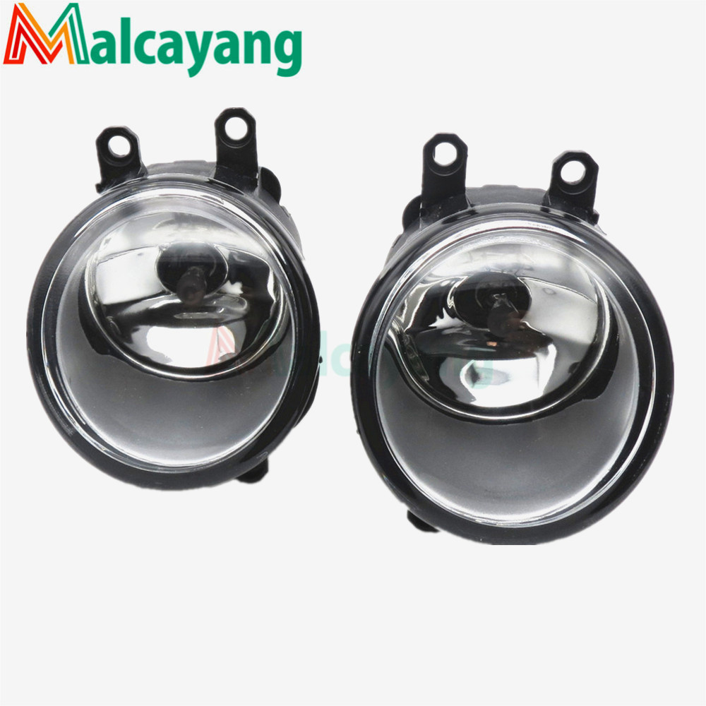 1 SET (Left + right) Car Styling Front Halogen Fog Lamps Fog Lights 81210-06052 For Toyota Corolla 2007 2008 2009 2010 special car trunk mats for toyota all models corolla camry rav4 auris prius yalis avensis 2014 accessories car styling auto