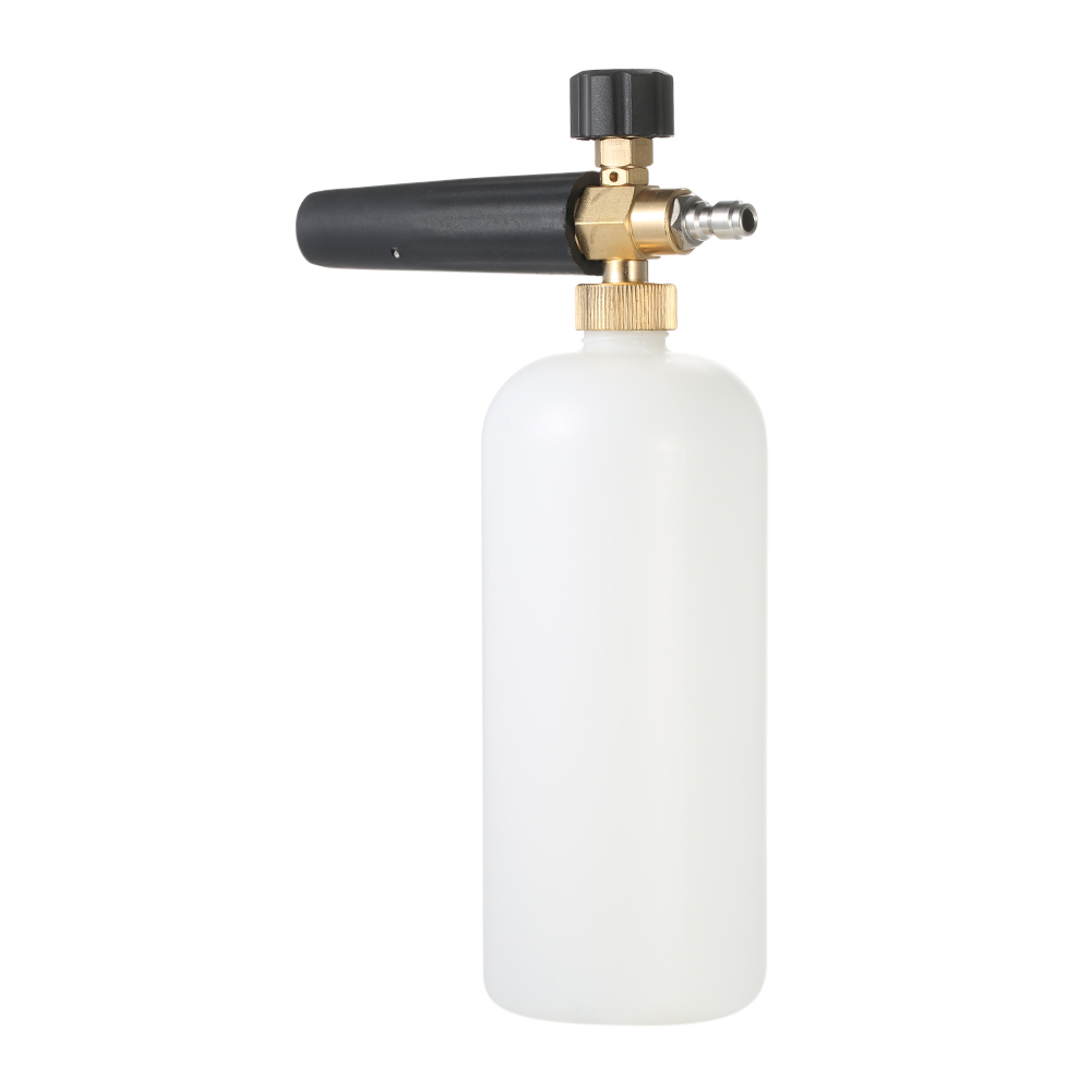 цена Snow Foam Lance Adjustable Foam Cannon 1 Liter Bottle with 1/4