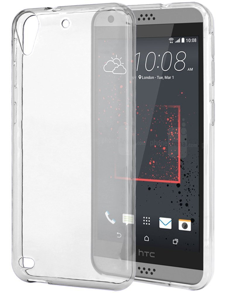 e0018a1f829 Ultra Thin Cover For HTC Desire 530 630 D530 D630 Slim Fit Scratch  Protective TPU Rubber Flexible Soft Shield Case