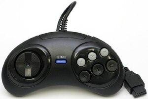 Image 4 - 新 6 デジタルボタン有線コントローラパッドセガメガドライブメガゲームパッドジョイスティックセガジェネシスmd