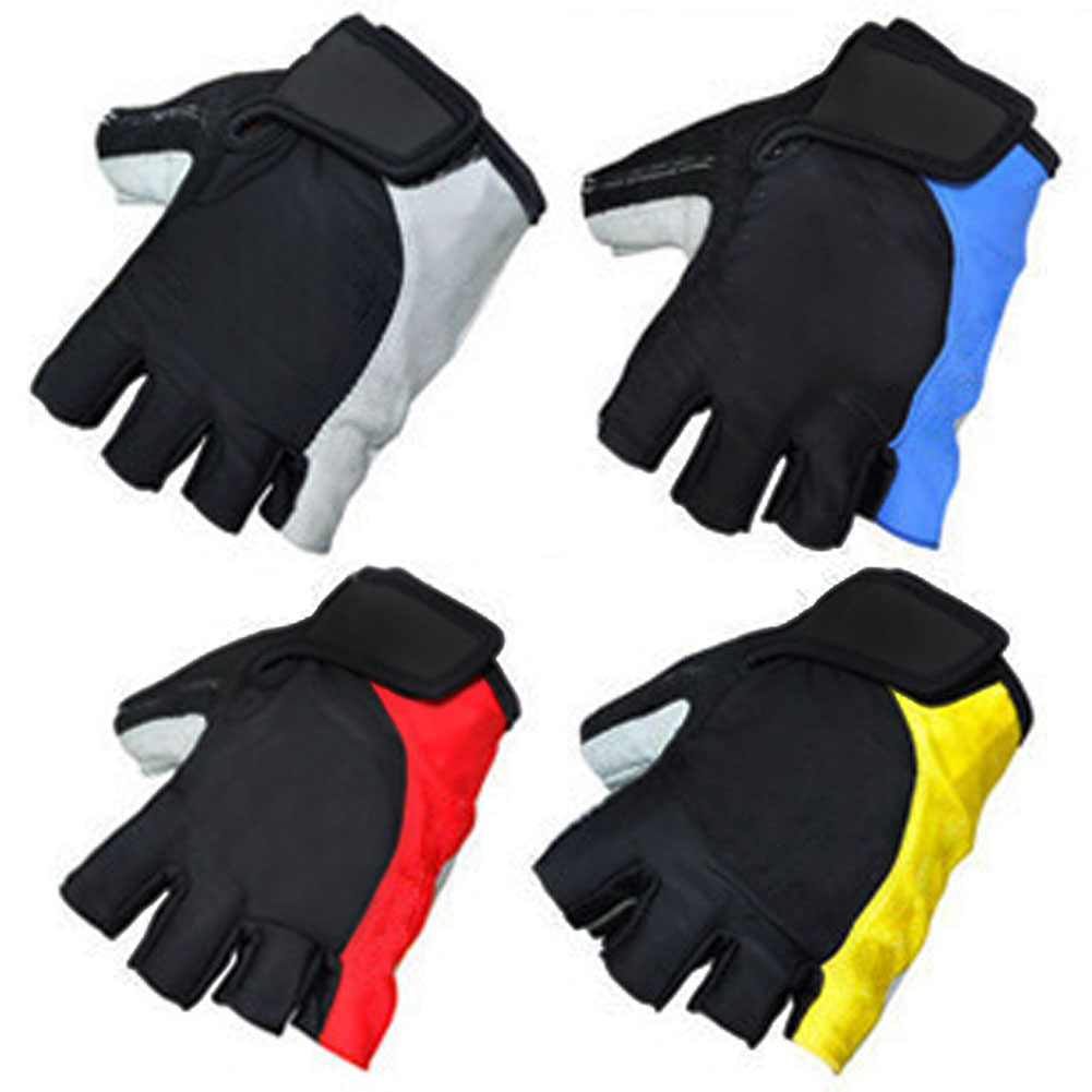 Motorcycle gloves ratings - Cool Unisex Cycling Gloves Men Sports Half Finger Anti Slip Gel Pad Motorcycle Mtb Road Bike Gloves Bicycle Gloves