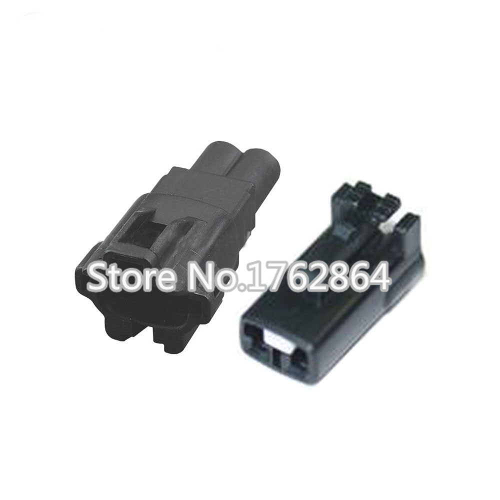 Automotive Fuse Box Connectors : Sets pin female and male auto waterproof electrical