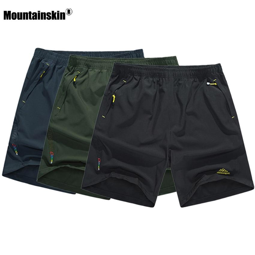 Mountainskin Männer der Sommer Quick Dry Atmungsaktive Shorts Outdoor-sportbekleidung Mountainskin Wandern Trekking Läuft Männliche Hosen