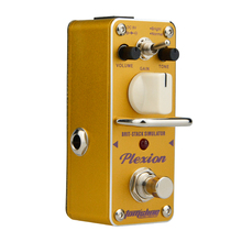 AROMA APN-3 Plexion Brit-stack Simulator Electric Guitar Effect Pedal Mini Single Effect with True Bypass Guitar Effect Pedal