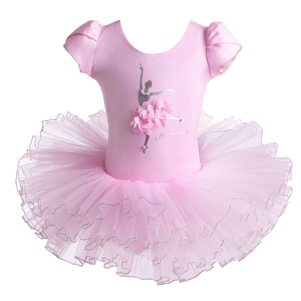 baohulu-fancy-short-sleeve-tutu-font-b-ballet-b-font-dress-kids-dance-wear-pearl-flower-dancer-font-b-ballet-b-font-costume-birthday-gift-kids-girls-clothes