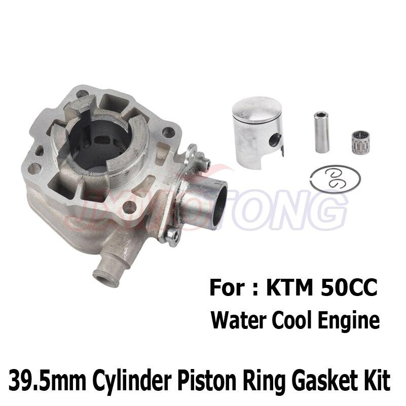 39,5 мм набор прокладок поршневых колец для цилиндра Ktm50 Ktm 50 Sx Junior, крутой цилиндр для двигателя, поршневой комплект