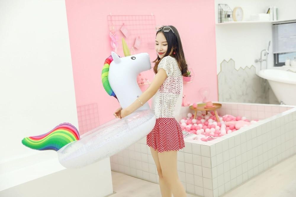 Yuyu venda quente inflável flamingo piscina flutuador