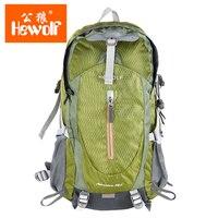 Hewolf 38L 50L Large Waterproof Travel Sport Bag Outdoor Portable Foldable PU Backpack Cover Waterproof Dustproof