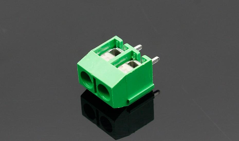 HTB1BIALnGmWBuNjy1Xaq6xCbXXag - 20PCS/LOT KF301-2P KF301-5.0-2P KF301 Screw 2Pin 5.0mm Straight Pin PCB Screw Terminal Block Connector Blue and green