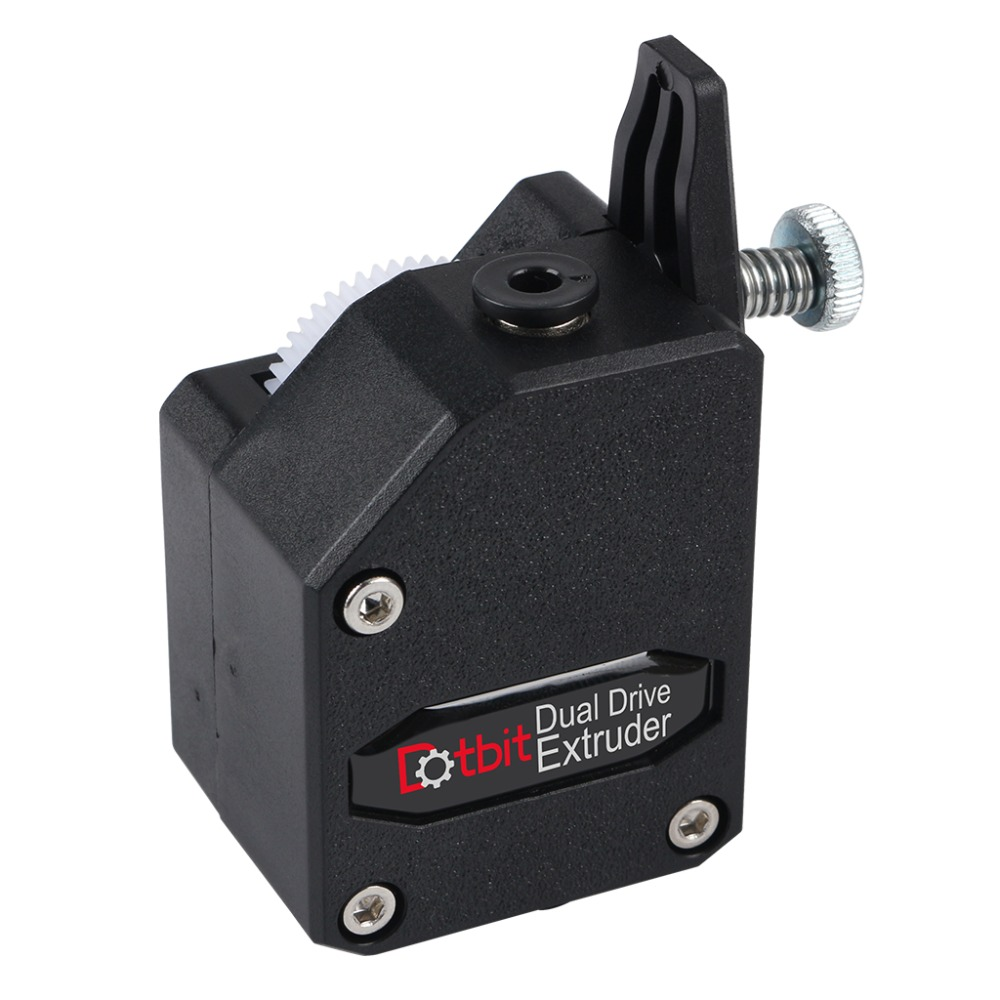 1x High Performance BMG Extruder Cloned Btech Bowden Extruder Dual Drive Black