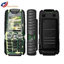 CAGI XP3300 5000 mAh Big Batterieleistung-bank Handy mit Elektrische taschenlampe und Große Tasten Dual SIM Karten GSM Russische auf lager