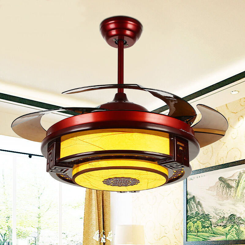 Ceiling fans lamp led 42 108cm inch frequency conversion motor wood ceiling fans lamp led 42 108cm inch frequency conversion motor wood traditional ceiling fan light dimmer remote control 85 265v in ceiling fans from lights aloadofball Gallery