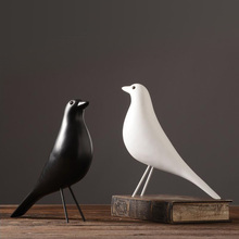 2018 New Limited Mrzoot Resin Craft Bird Figurine Statue Office Ornaments Sculpture Home Decoration Accessories