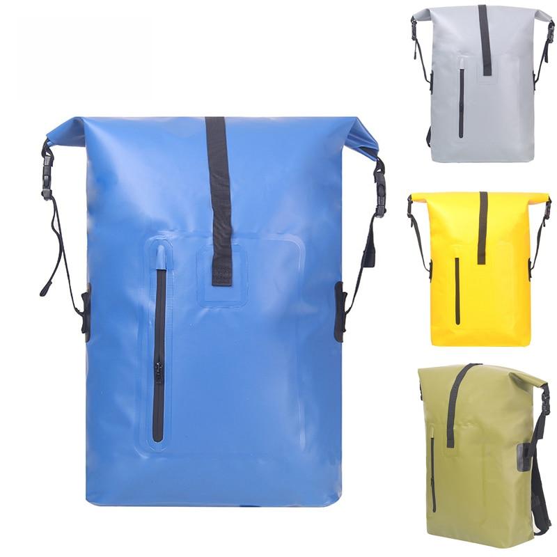 32L Waterproof bag Backpack PVC platon Super Waterproof bag Dry bag Swimming bag River trekking bag