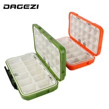 DAGEZI Fly Fishing Box Multi-function ABS Fishing Box for fishing Popper 1 can be adjustable  Fishing Accessories
