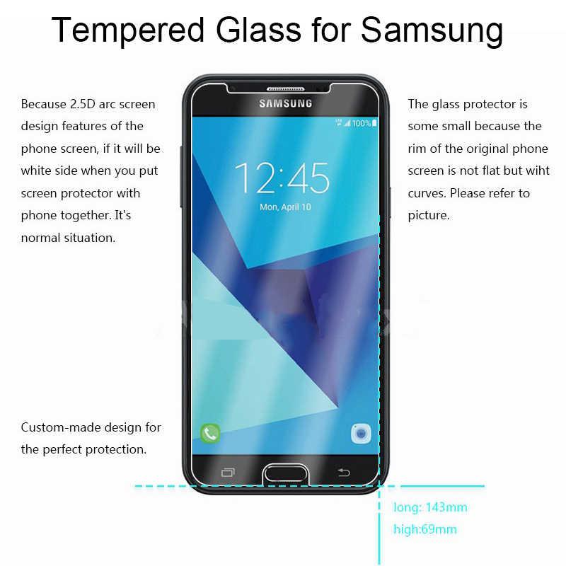 زجاج واقي لهاتف سامسونج J2 برو 2018 J1 Ace Nxt 9H HD زجاج مقسى واقي للشاشة على جالاكسي J1 Mini Prime