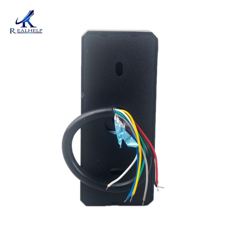 IP65 Водонепроницаемый мини-считыватель карт доступа 125 кГц ID RF EM считыватель карт доступа к двери Wiegand26 RFID терминал для платы управления