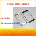 Для s7edge стекла ремонт экран телефона стекло передней крышки, ЖК-экран, рукописный стекло, для Samsung galaxy g9350 5 шт./лот