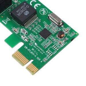 Image 4 - 1000Mbps Gigabit Ethernet adaptateur PCI Express PCI E carte réseau 10/100/1000M RJ 45 RJ45 LAN adaptateur convertisseur contrôle réseau