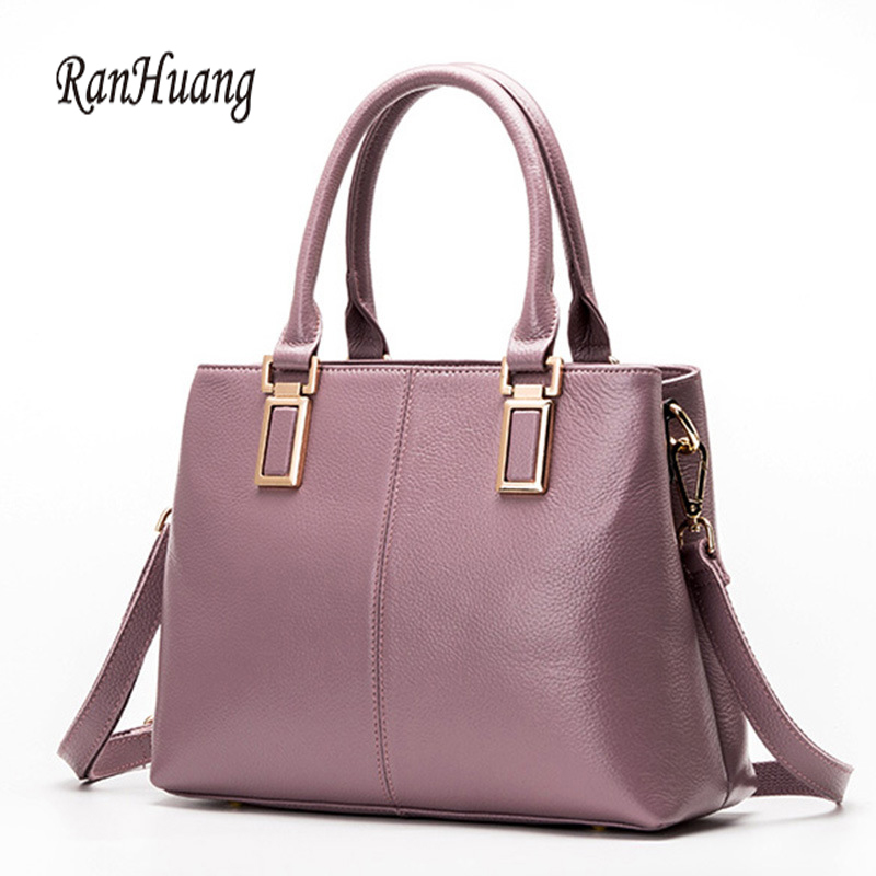 RanHuang Brand Women Genuine Leather Handbags New 2017 Luxury Handbags High Quality Women's Fashion Shoulder Bags Elegant Bags ranhuang brand new 2017 high quality women genuine leather backpack women s luxury backpack fashion bags for teenage girls a871