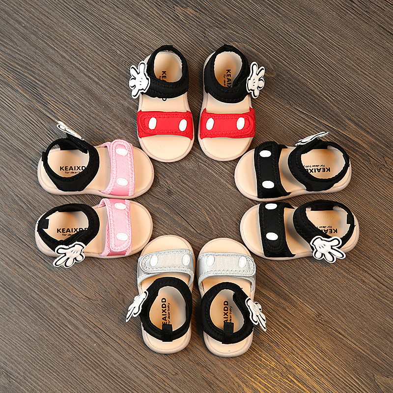 2018 Summer Baby Girls Boys Sandals Leisure Cartoon Child Baby Girls Sandals Toddler Shoes 1-3 Years Hot