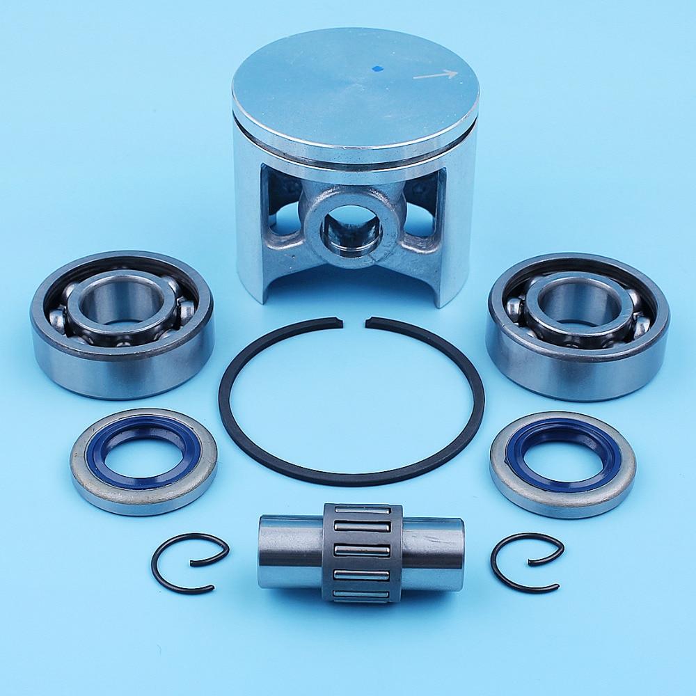 48mm Piston Ring Kit Fit Husqvarna 261 262 262XP Chainsaw Replaces 503531172,