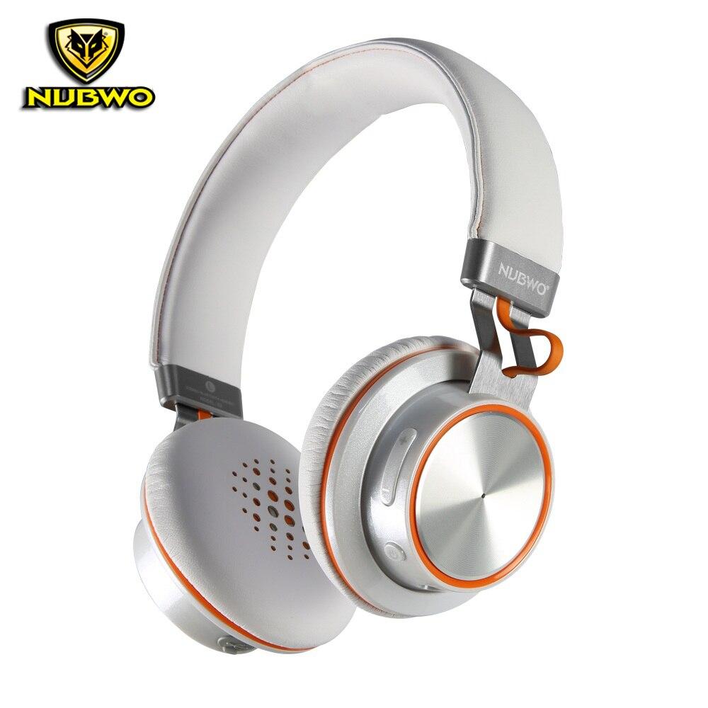imágenes para NUBWO S2 Auriculares Bluetooth Inalámbrico + Cable de Deep Bass Over Ear Stereo Surround Sound Auriculares Diadema Con Micrófono Inalámbrico
