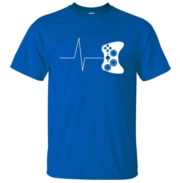 For gamer T Shirts funny Gaming Tshirt Video Game Shirt Men  Summer New Novelty Short Sleeve T Shirt 100% Cotton Tops Tees