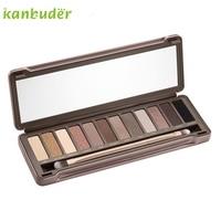 12 Colors Make Up Urban Neutal Eyeshadow Palette Nude Eye Shadow NK2 P30 Jul4