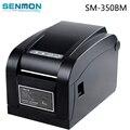 SM-350BM20mm ~ 80mm Térmica Directa Impresora de código de Barras de La Impresora Térmica de códigos de Barras Impresora de Etiquetas de código de Barras USB Función de Cáscara de Separación