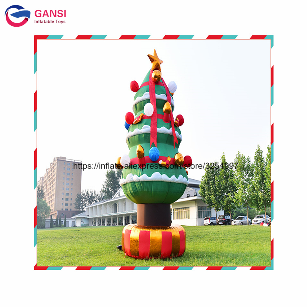 Xmas festival toy 2m height inflatable christmas tree for dispplay ...