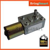 Hurtownie JGY-372 12 v Silnika Przekładnia ślimakowa 4.5 rpm-120 rpm Silnik Mała Przekładnia Ślimakowa Przekładnia ślimakowa Z Siebie-Locking Przekładnia Ślimakowa