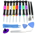 16 in 1 Repair Tools Kit Screwdrivers Set Kit Hand Tools Set Universal For iPad 4 For iPhone 5 4S 3G Mobile Phones