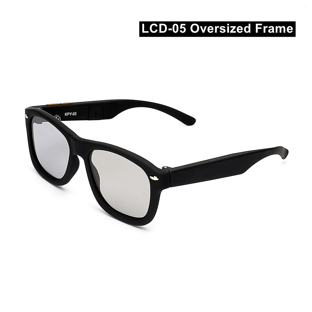 Image 4 - Electronic Adjustable Dimming Sunglasses LCD Original Design Liquid Crystal Polarized Lenses Factory Direct Supply Drop Shipping-in Men's Sunglasses from Apparel Accessories