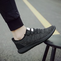 2019 Summer Autumn New Style Men's Mesh Ventilation Casual Shoes Fashion Low Help Colorblock Movement Casual Shoes