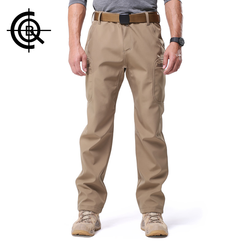 CQB Outdoor Hiking Pants Men Softshell Trousers Camping Waterproof Trousers Warm Military Hunting Tactical Pants LKZ0073 батарею литий ионную lkz ntktajyf
