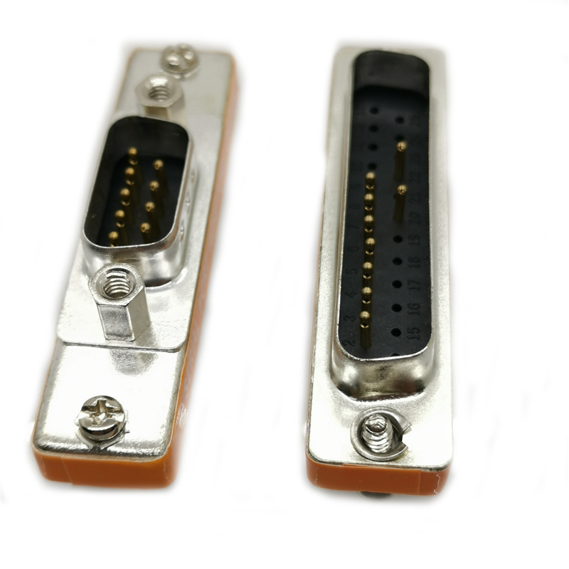 25 Pin DB25 D25 D Sub Male Solder Type Connector Adaptor 2 PACK