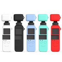1Set Weichen Silikon Case Schutzhülle Objektiv Gehäuse Haut Shell für DJI Osmo Tasche Gimbal Kamera Zubehör Kit-in Tragbügel-Zubehör aus Verbraucherelektronik bei