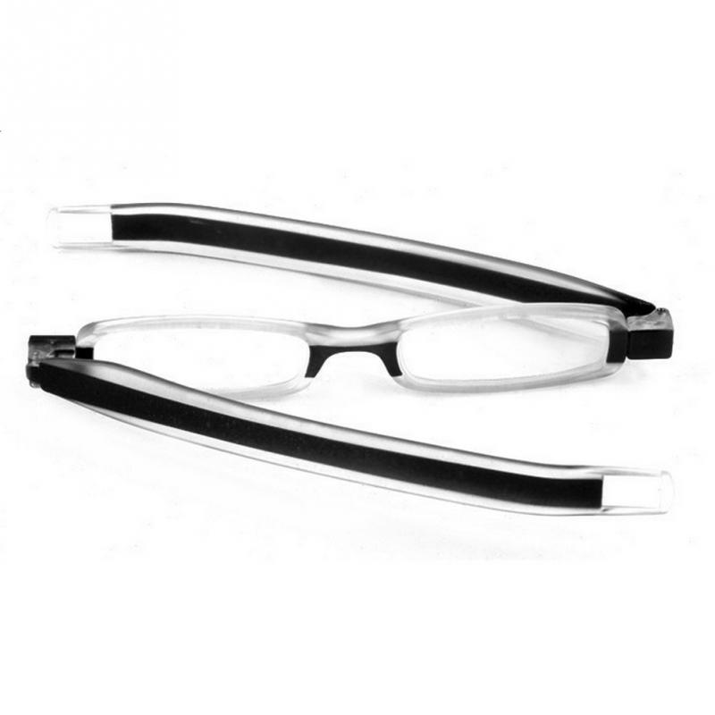 2d7bf4c4d2e Unisex Portable 360 Degree Rotate Foldable Reading Glasses The Elderly Clear  Reader Eyewear 1.0 1.5 2.0 2.5 3.0 3.5 4.0 Lens-in Reading Glasses from  Apparel ...