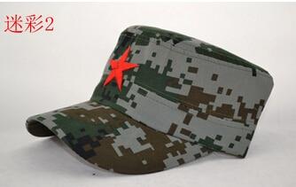 50 шт./партия Federal Express быстро в китайском стиле для женщин Мужская хлопковая Маскировочная шапка Регулируемая Повседневная бейсбольная кепка мягкая шапка - Цвет: 2
