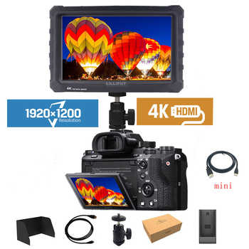 Lilliput A7s 4K Monitor 7-inch 1920x1200 HD IPS Screen 500cd/m2 Field Camera Monitor 4K HDMI Video for Nikon Canon Sony DSLR - DISCOUNT ITEM  20 OFF Consumer Electronics