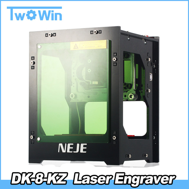 2018 Upgrade NEJE 1000mW cnc crouter cnc laser cutter mini cnc engraving  machine DIY Print laser engraver High Speed Ad Baffles-in Wood Routers from