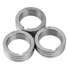 Rouleau d'alimentation en fil d'acier inoxydable, roue de guidage de fil de soudure pour Binzel 30x10x22mm 0.8/1.0/1.2mm