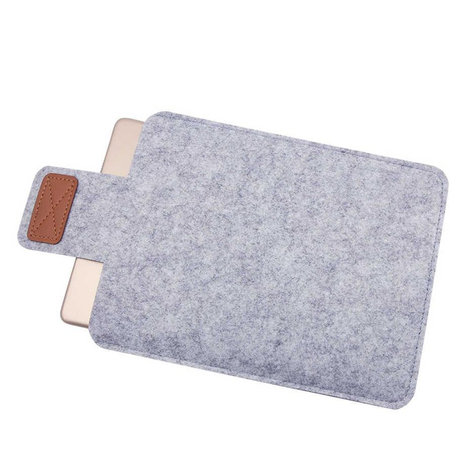 Evrensel yün keçe kumaş Tablet kapak çanta için Lenovo Tab 2 3 4 7 8 10 artı TB-X304F TB-X304N TB-8504F TB-8704F kol çantası kılıf