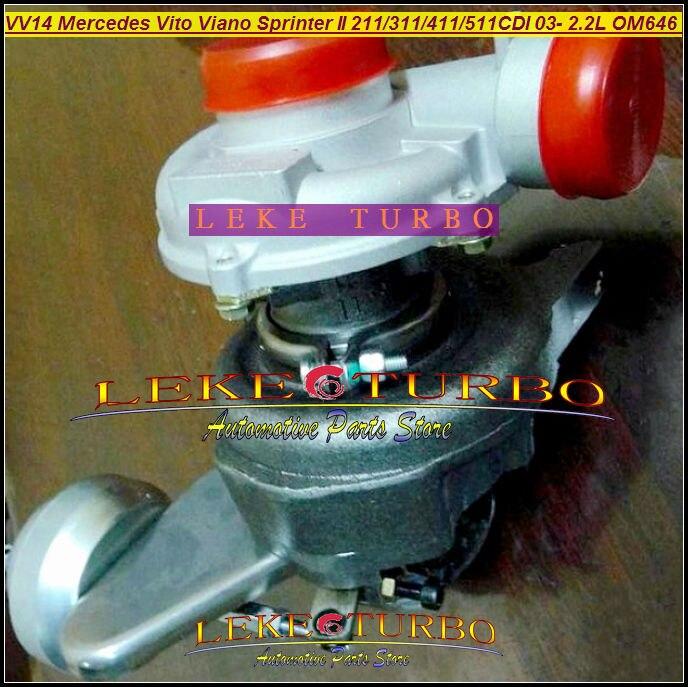 RHF4 VV14 VF40A132 6460960699 6460960199 Turbo For Mercedes PKW Vito 111 115 W639 Viano Sprinter 211 311 411 511 OM646 2.2L CDI free ship rhf4v vv14 vf40a132 6160960199 turbo for mercedes benz pkw vito 115 111 viano sprinter ii om646 de22la 2 2l cdi 150hp