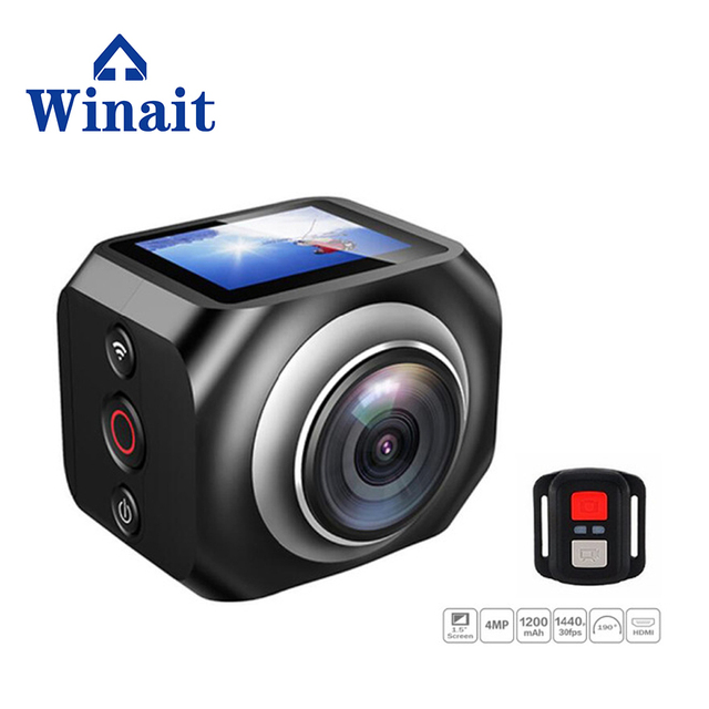 HD 1080p digital video wifi action 360  camera free shipping