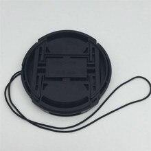 Профессиональная защитная крышка объектива для Canon/Nikon/Pentax/Sony ABS пыли объектив камеры Защитная крышка с анти-потерянный Веревка крышка объектива защита камеры крышка для объектива canon крышка для объектива
