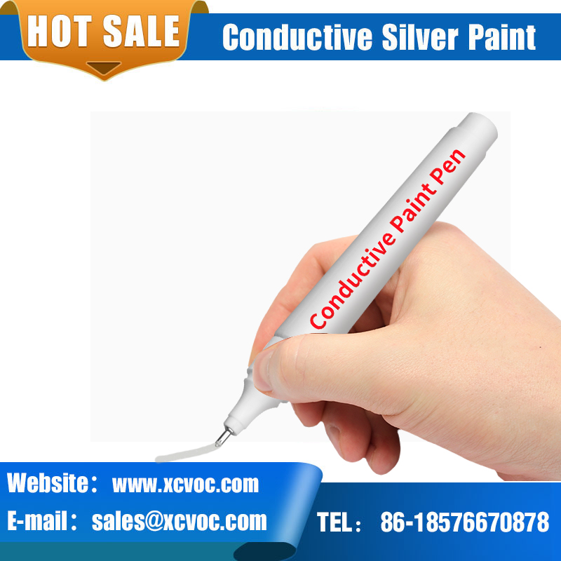 Conductive Ink Pen Electronic Draw Circuits Instantly Magical Pen DIY Electric Paint Pen Conductive Copper Paint Pen Wire Glue
